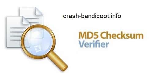 برنامه MD5 Checksum Verifier