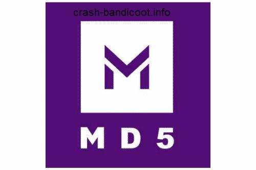 نرم افزار md5 انفجار