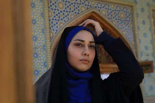 صدف طاهریان با حجاب