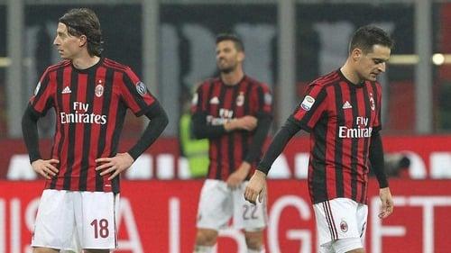 روسونری لقب تیم اول میلان ایتالیا
