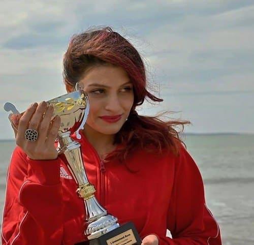 بهترین بوکسور زن ایرانی