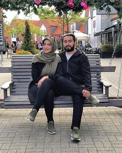 آناشید حسینی و امیر حسین مرادیان