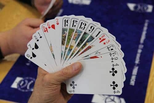 ارزش کارت ها در بازی سی و چهل