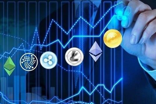 نمودار رتبه بندی ارزهای دیجیتال