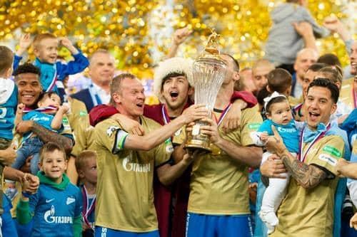 5 تیم برتر لیگ روسیه در جدول چه جایگاهی دارند؟