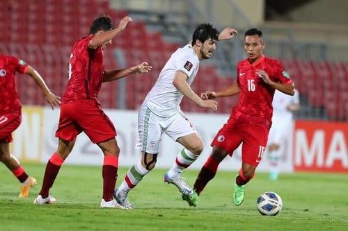 ترکیب ایران مقابل بحرین