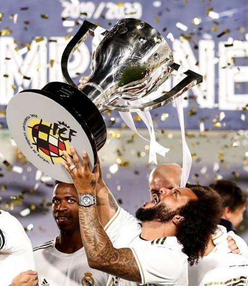 رط بندی زنده روی رئال مادرید
